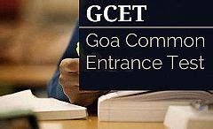Gcet For Mba 2016 by What Is Goa Cet 2016 Minglebox