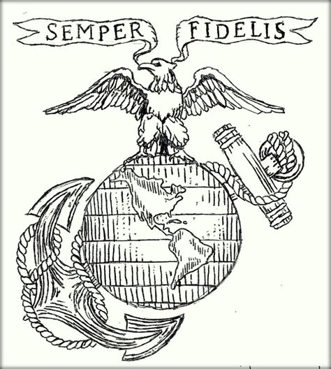 Marine Corps Coloring Pages Color Zini Us Marine Corps Coloring Pages