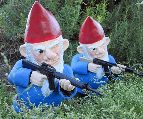 garden gnomes anyone anyone want to join my new garden gnome religion