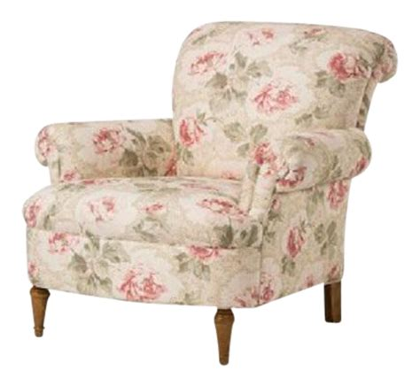 floral armchairs o henry house floral upholstered armchair chairish