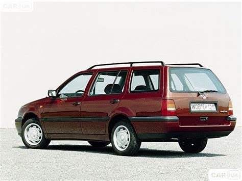 Golf 1 6 Auto Fuel Consumption by Volkswagen Golf Iii Variant 1hx0 2 9 Vr6 Syncro 190 Hp Car