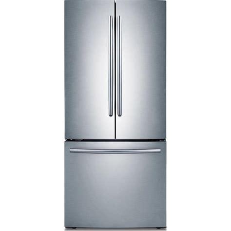 samsung door refrigerator stainless steel samsung refrigerator 30 in w 21 8 cu ft door