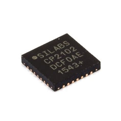 Ic Cp2102 Qfn cp2102 usb to uart bridge qfn 28 rhydolabz india