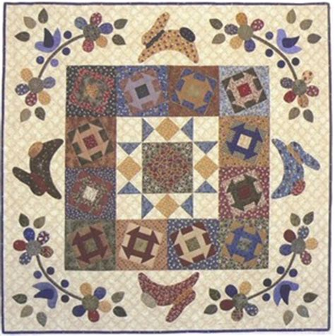 Rabbit Quilt Pattern by Bunnies And Blooms Rabbit Easter Quilt Pattern Basket Ebay