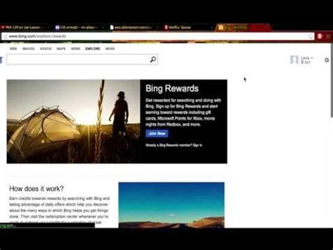 Bing Rewards Amazon Gift Card Link - bing rewards search the web earn free rewards doovi