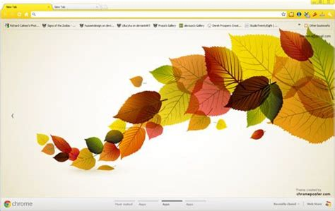 thanksgiving theme for google chrome 14 best images about autumn chrome themes on pinterest