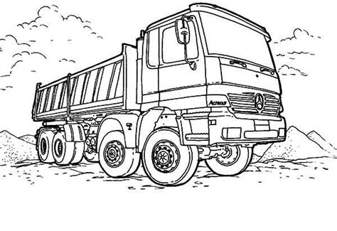 tonka truck coloring pages coloring pages