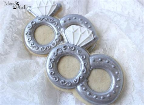 Wedding Ring Cookies by Wedding Rings Decorated Cookie Wedding Cookies Ring