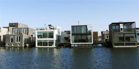 Tiny Homes On Foundations the netherlands is building houses that float on water