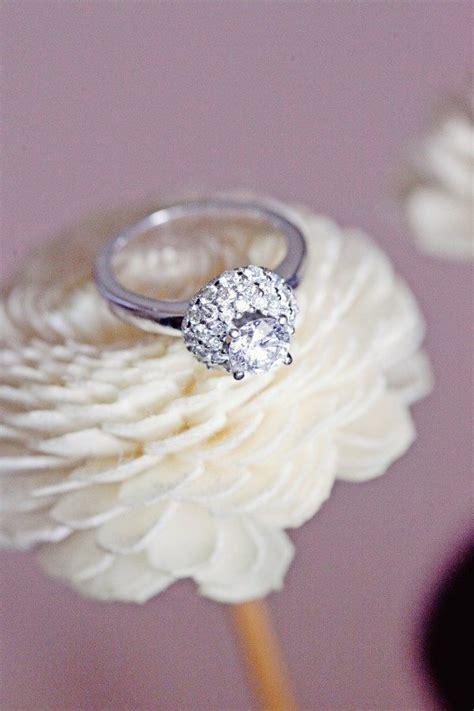 gorgeous real wedding engagement rings weddingbells