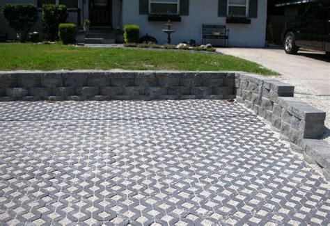 porous driveway ideas