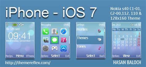 Iphone Themes For Nokia 2690 | iphone ios 7 theme for nokia c1 01 c1 02 c2 00 107