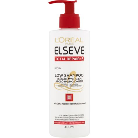 Loreal Elseve l or 201 al elseve total repair 5 low shoo aoro ro