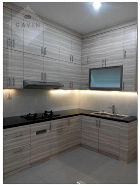 contoh kitchen sets minimalis hpl  serpong kitchen set