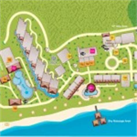 dorado resort map el dorado maroma sunset travel inc
