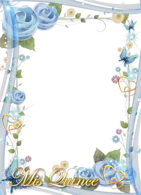 imagenes de flores para xv años marcos para fotos en png de quince a 241 os marcos gratis