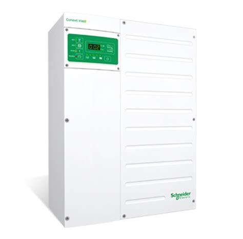 schneider electric solar l hybrid inverter for solar power conext xw se solar