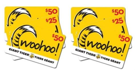 Tiger Gift Card - free giant tiger gift card giveaway free stuff finder canada