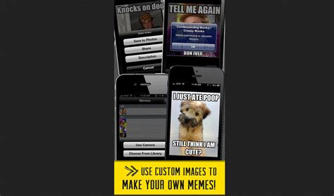 Meme Factory App - best apps to help you create memes from your mobile device