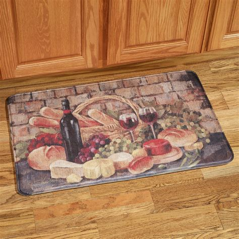 Kitchen Rugs And Mats by Tuscan Evening Memory Foam Kitchen Comfort Mat