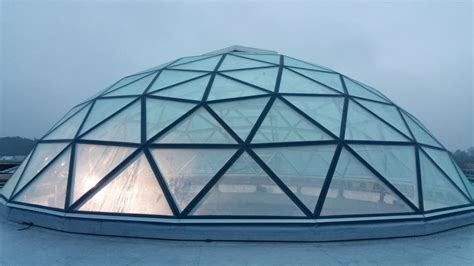 Double Height Ceiling by Skylight Glass Dome Roof Vikingdome
