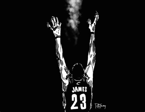 lebron james wallpaper black and white knicks vs cavaliers 10 31 2014 patruby