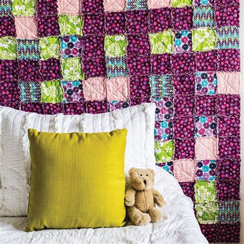 How To Sew A Rag Quilt by How To Make A Rag Quilt Diy Earth News