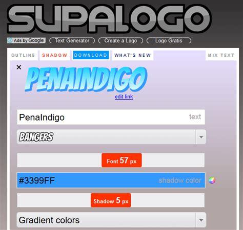 link membuat logo gratis cara membuat logo secara online gratis terbaru pena indigo