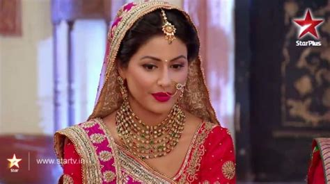 akshara wedding hairstyle akshara to die in yeh rishta kya kehlata hai show to