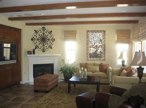 decorating ideas family room brown leather furniture