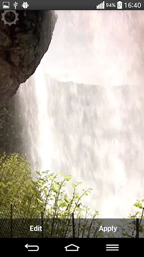 Waterfall Live Wallpaper With Sound