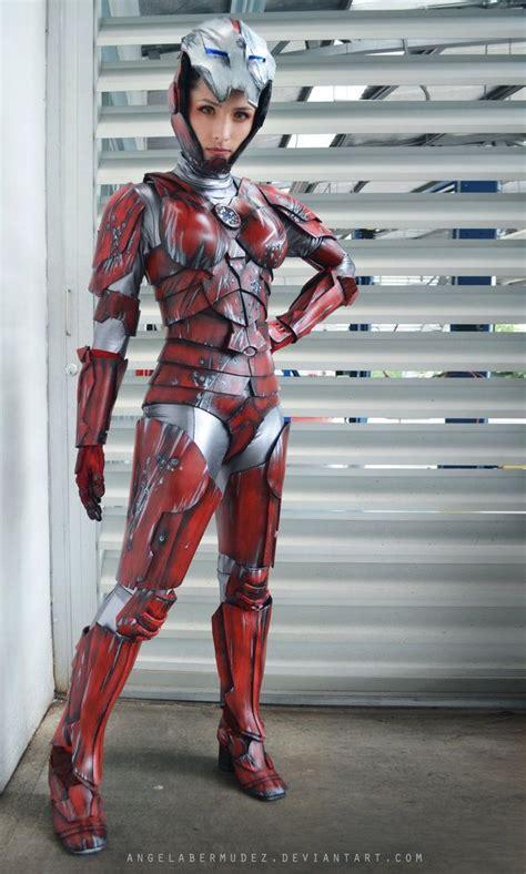 virginia pepper potts angelabermudez cosplay costume