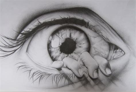 eye drawing the eye drawing by charlottexbx on deviantart