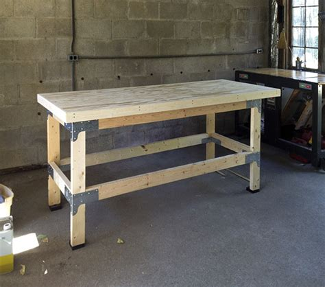 simpson strong tie bench kit pdf workbench plans simpson plans free