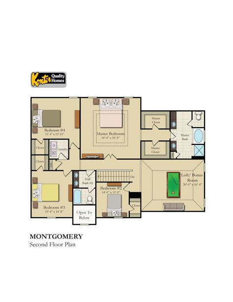 montgomery homes floor plans carolina