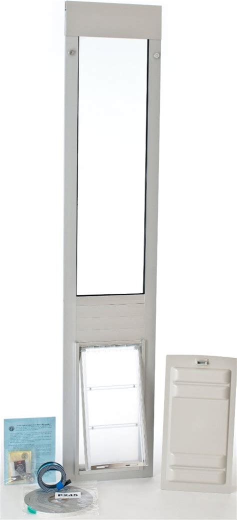 Patio Panel Pet Doors Patio Pacific Panel 3e For Sliding Glass Doors With Endura Flap Pet Door