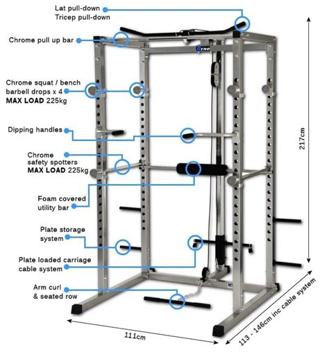 12 best images about power rack measurements on