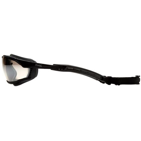 frame rubber st pyramex gb9480st isotope safety glasses goggles black