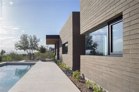 Contemporary Homes Designs Gallery Of Rammed Earth Modern Kendle Design 14