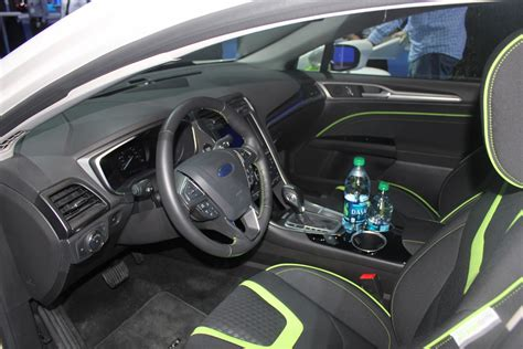 ford fusion energi in hybrid interior