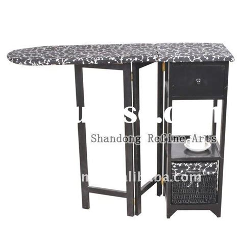 foldable ironing board in cabinet foldable wooden ironing cabinet board with basket wheel