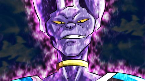 dragon ball z beerus wallpaper beerus by rmehedi on deviantart