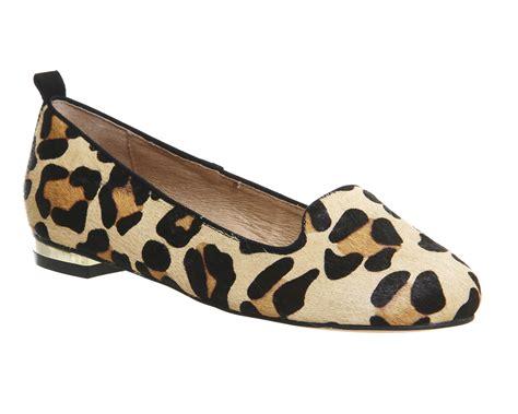 leopard womens loafers womens office royal slipper cut loafers leopard pony hair