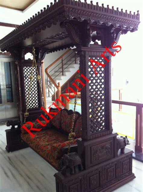 indian style swings code 92 buy carved indian maharaja wooden swings wooden