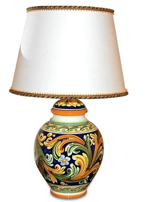ladari in ceramica di caltagirone lume in ceramica di caltagirone h60 lade da tavolo