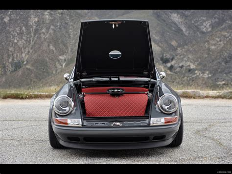 porsche trunk in singer porsche 911 trunk wallpaper 242 1600x1200