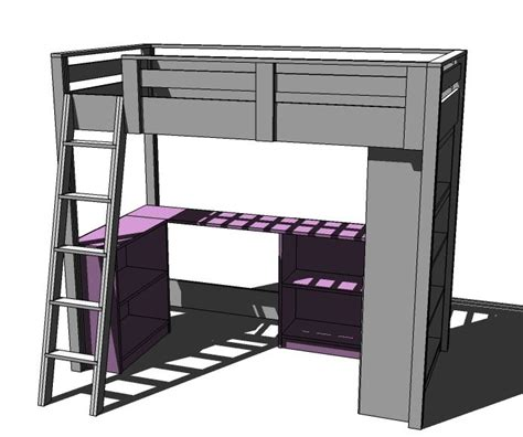 diy bed desk white build a loft bed small bookcase and desk free and easy diy project and furniture