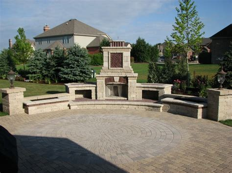 outdoor fireplace kits lowes plans rickyhil outdoor
