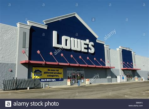 lowe s home improvement store in ionia michigan usa stock