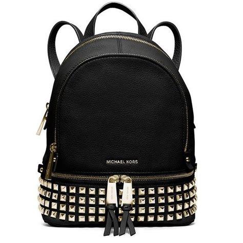Ezra Studded Ab Bag Black 1000 ideas about black leather backpack on